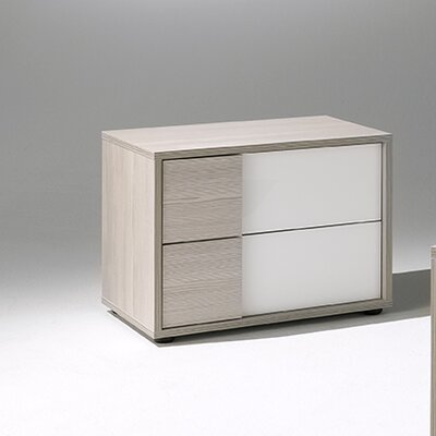 Natalie 2 Drawer Nightstand