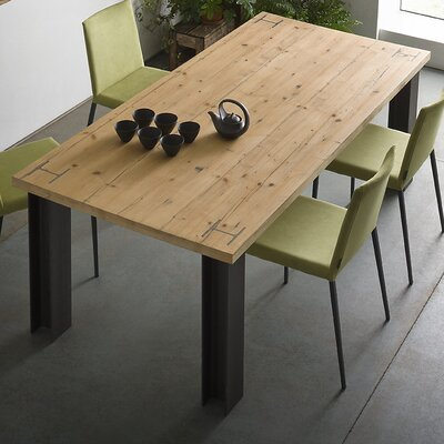 Presto Extendable Dining Table Size: 29.5 H x 39 W x 78 - 117 D