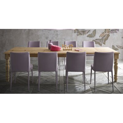 Pasha Extendable Dining Table Size: 30 inch H x 39 inch W x 86 inch - 134 inch D