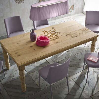 Pasha Dining Table Size: 30 inch H x 39 inch W x 78 inch D