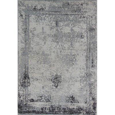 Anthracite Area Rug Rug Size: 57 x 711