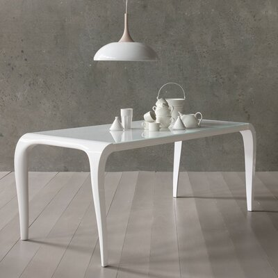 Arial Extendable Dining Table Size: 30 H x 34 W x 72.5 D