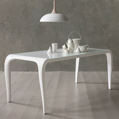 Arial Dining Table Size: 30 H x 37 W x 90 D