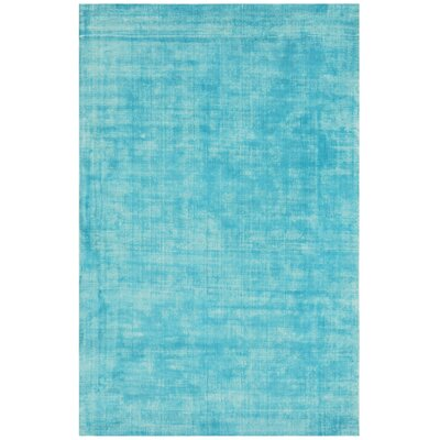Antique Hand-Woven Turquoise Area Rug Rug Size: 67 x 910