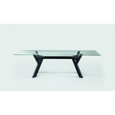Theodosia Dining Table Size: 29.5 H x 39.4 W x 86.6 D