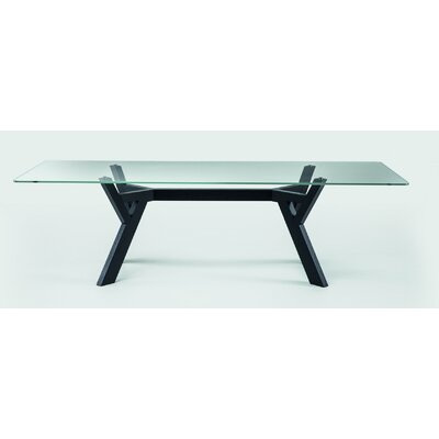 Theodosia Dining Table Size: 29.5 H x 47.2 W x 118.1 D