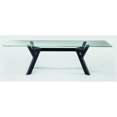 Theodosia Dining Table Size: 29.5 H x 43.3 W x 110.2 D