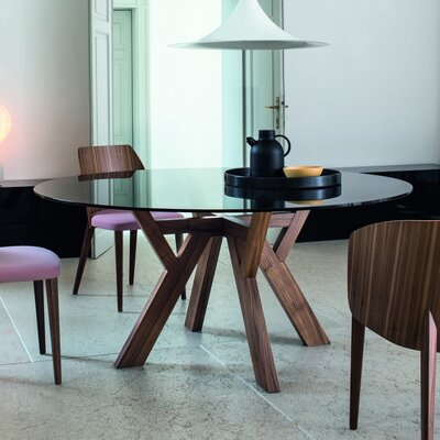 Theodosia Dining Table Size: 29.5 H x 63 W x 63 D