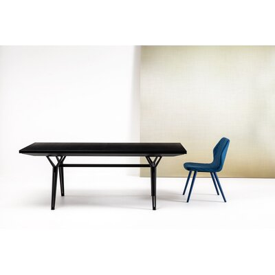 Edward Extendable Dining Table Size: 35.4 W x 78.7 L