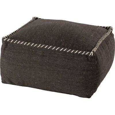 Pouf Upholstery: Black