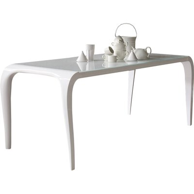 Arial Extendable Dining Table Size: 30 inch H x 37 inch W x 90 inch D