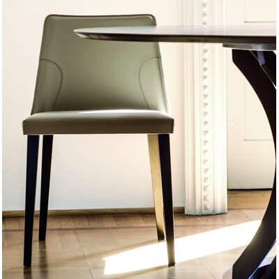 Nora Genuine Leather Upholstered Dining Chair