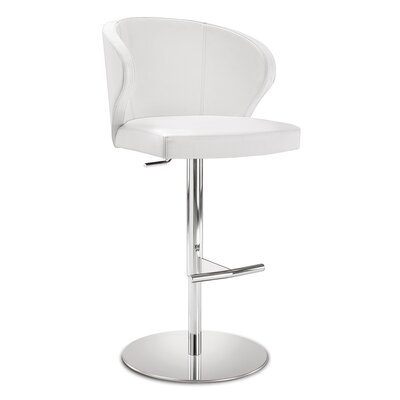 Dolmen Adjustable Height Swivel Bar Stool