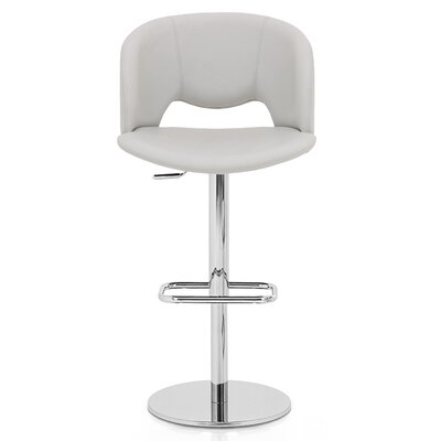 Fancy Adjustable Height Swivel Bar Stool