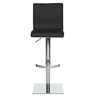 Smooth Adjustable Height Swivel Bar Stool