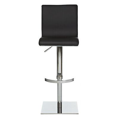Smooth Adjustable Swivel Bar Stool