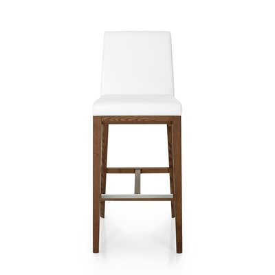 Hilary 31.9 Bar Stool Upholstery: Genuine Leather