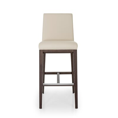 Pola 31.9 Bar Stool Upholstery: Genuine Leather