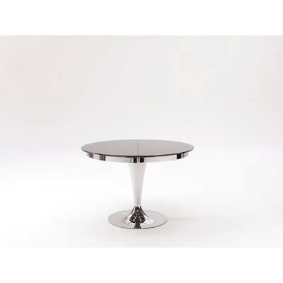 Elise Extendable Dining Table Finish: Chrome