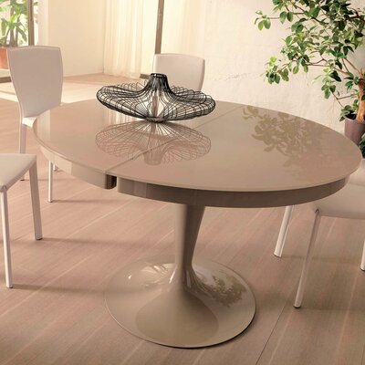 Elise Extendable Dining Table Finish: Cream
