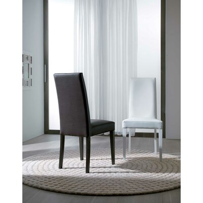 Daisy Side Chair Upholstery: Black