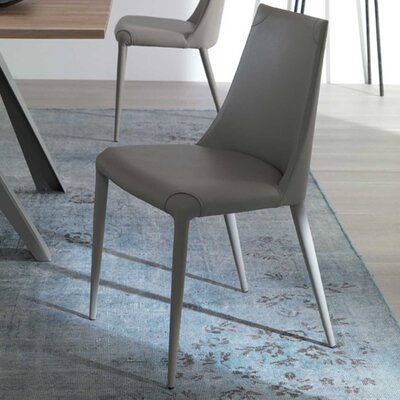 Apollo Side Chair Upholstery: Gray