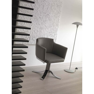 Agnese Swivel Armchair Upholstery: Light Gray
