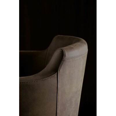 Boss Swivel Armchair Upholstery: Special Brown
