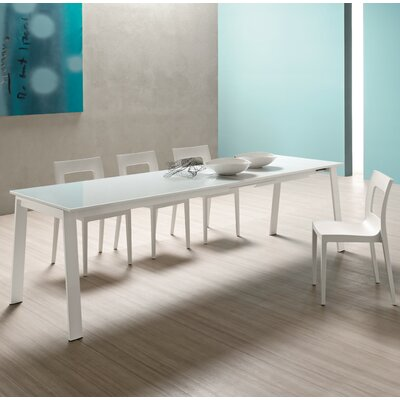 Alpha Extendable Dining Table Size: 29.5 H x 31.5 W x 47.3 - 78.8 D