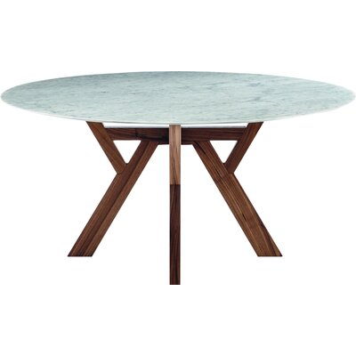 Theodosia Dining Table Size: 29.3 H x 63 W x 63 D