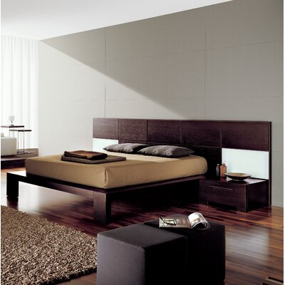 Soho Platform Bed Size: King, Finish: Wenge Wood