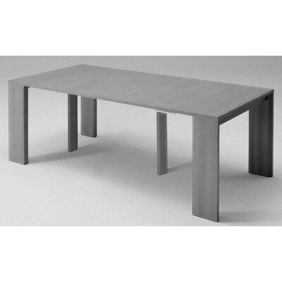 Masha Metal Mechanism Transformable Console Table Finish: Concrete