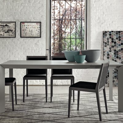 Twiggy Rectangular Open Pore Matt Lacquer Extendable Dining Table