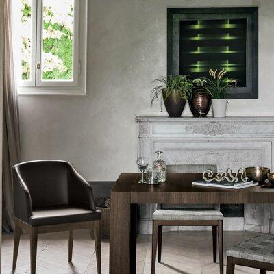 Doppio Passo Rectangular Extendable Dining Table Finish: Heat-Treated Oak Wood Veneer