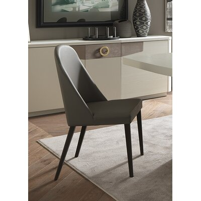 Venus Upholstered Dining Chair Finish: Laquered