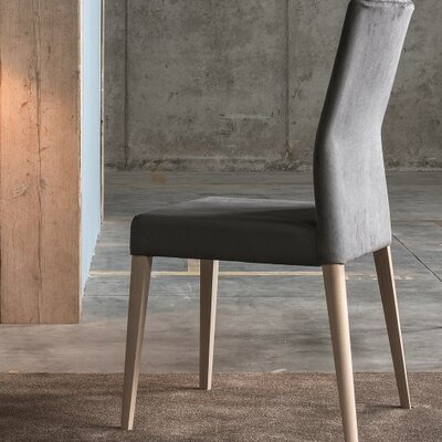 Soho Upholstered Dining Chair Color: Master Grey