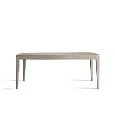 Bernie Rectangular Extendable Dining Table Finish: Natural Gray