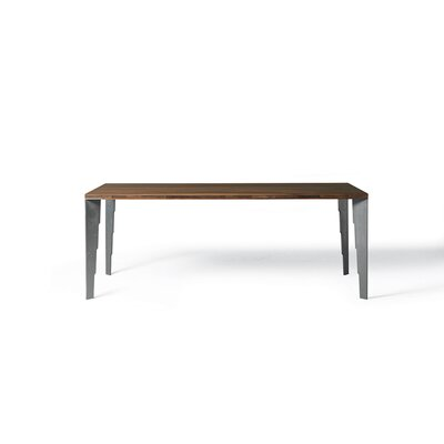 Baltimore Fixed Dining Table Finish: Rusted Metal Legs