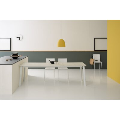 Otis Extendable Dining Table Size: 30 H x 55 L x 35 W
