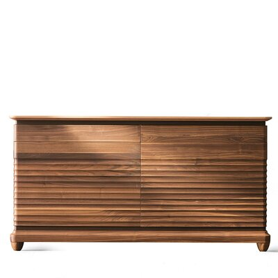 Arianna Sideboard Color: Natural Walnut Finish