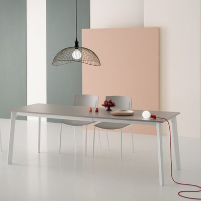 Kent Extendable Dining Table Size: 30 H x 86 L x 35 W