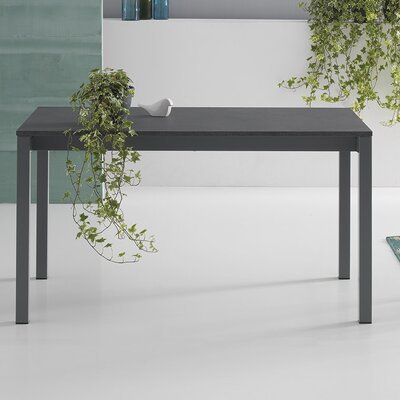 Judy Extendable Dining Table Size: 29.5 H x 86.7 L x 35.4 W