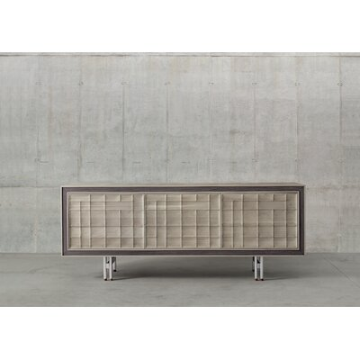 Aston Sideboard Color: Gray Walnut