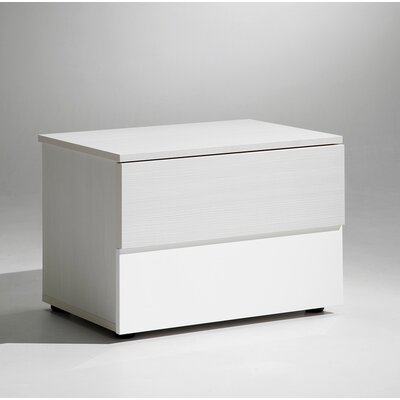 Sharon 2 Drawer Nightstand