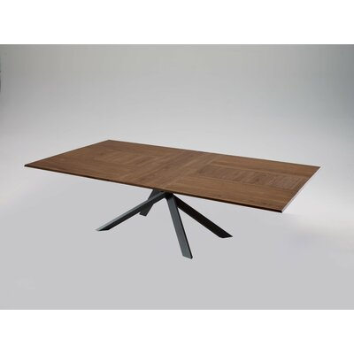 Quadron Extendable Dining Table Color: Walnut Canaletto