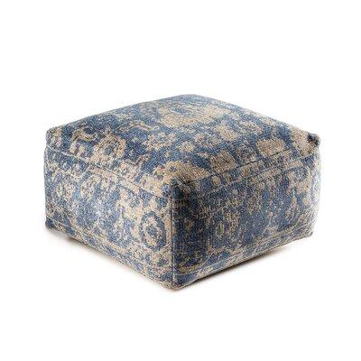 Sunshine Cube Ottoman Upholstery: Blue