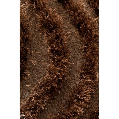 Wool Hand-Tufted Beige Area Rug Rug Size: 66 x 10, Color: Brown
