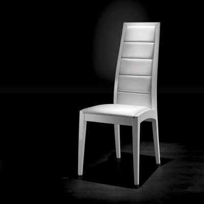 Easy financing Alicia Short Side Chair Finish: Bla...