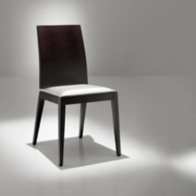 Rent Lady Side Chair Finish: Wenge, Upho...