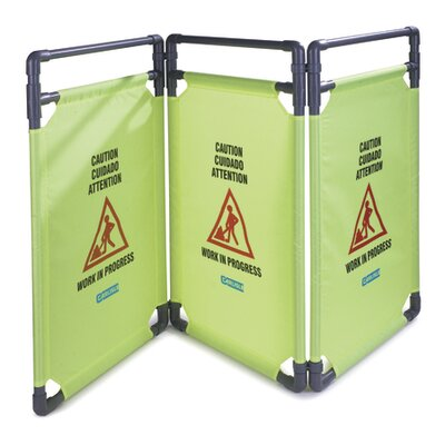 3 Panel Caution Barrier